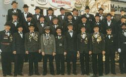 Gruppenbild der 1. Sektion aus dem Jahr 1997