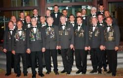 Vorstand der Schießabteilung im Jahr 2010